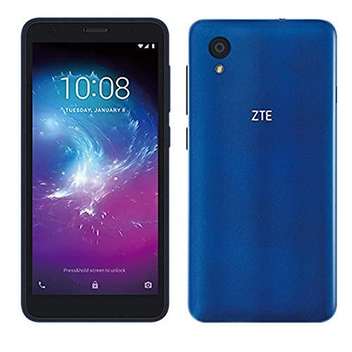 "ZTE Blade A3 Lite 5.0"" 18:9 Display, 8MP Camera Quad-Core Android 9.0 Go (LTE USA Latin Caribbean) 4G LTE GSM Unlocked Smartphone - International Version (Blue, 32GB)"