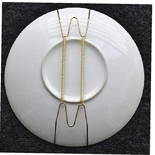 1pc Unsichtbare Platte Aufhänger Für Wände Platte Aufhänger, Haken Dekorative Teller Dish Diaplay Halter, 12inch