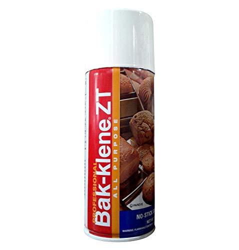 Bak-Klene ZT All Purpose Release Spray - Baking Spray, Grill Nonstick Spray for Cooking, Pan Oil Spray, High Heat Cooking Spray, 14 oz, Pack of 3