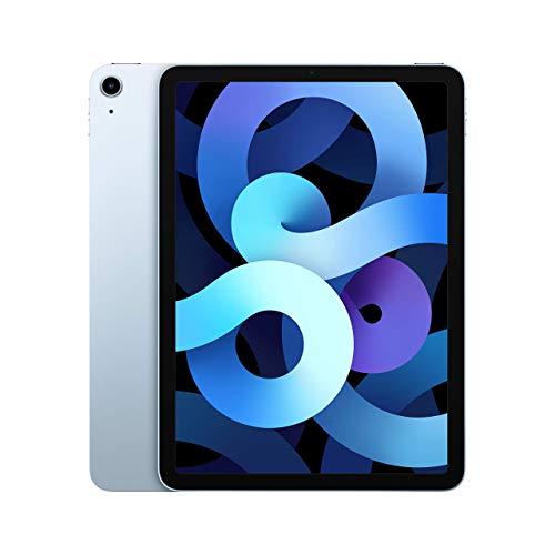 Apple iPad Air (4th Gen) 10.9' 256GB Wi-Fi - Sky Blue (Renewed)