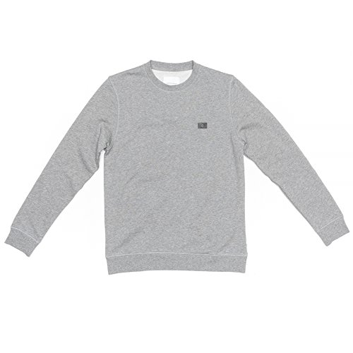 Samsoe & Samsoe Gary o-n ls Herren Sweatshirt 7435 Grey Mel S