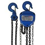 Bloque de poleas industrial profesional 10000 kg / 10t - 5000 mm / 500 cm de altura de elevación polipasto de cuerda polipasto de cadena polipasto de trinquete - forma de corazón