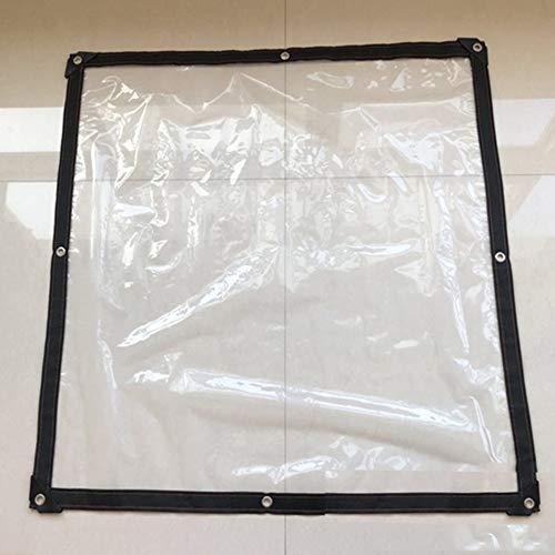 Transparante waterdichte dekzeil, 0,12 mm dikker outdoor dekzeil plastic zeil, plant kas Cover Film, scheurbestendig