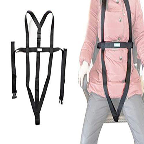 YAOBAO Rollstuhl-Sicherheitsgurt, medizinische Rückhaltesysteme Brustgurt mit verstellbarem und selbstlösendem Rollstuhl-Positionierungsgurt - Verhindert das Abgleiten des Patienten nach vorne