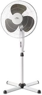 Lakewood 16-Inch Basic Oscillating Stand Fan (White)