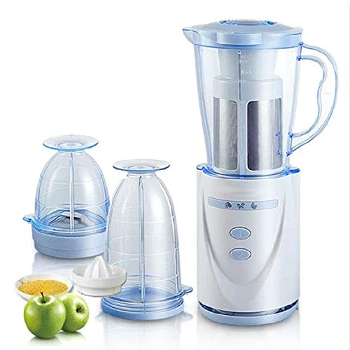 BMS Lifestyle Nutri-Blender 400 W Plastic Juicer Mixer Grinder with Pulp Extractor...