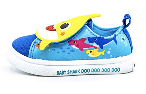 Baby Shark Toddler Girl's & Boy's Shoes Blue Size: 7 Toddler