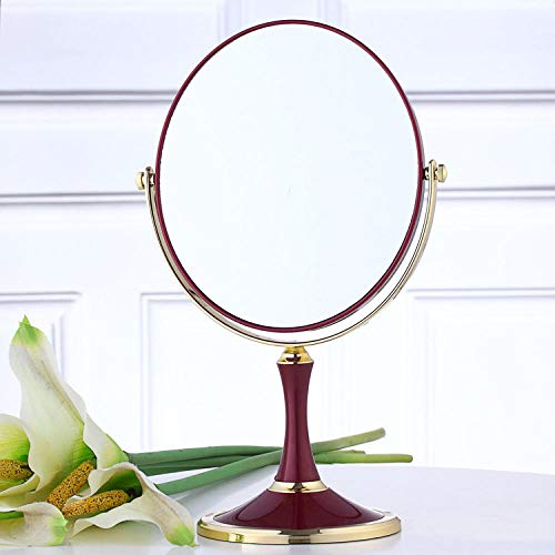 YCCYI 8 inch grote desktop dubbelzijdige make-up spiegel