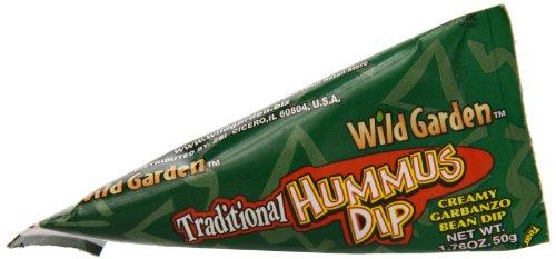 Wild Garden Traditional Hummus Dip, 1.76 Ounce (Pack of 24)