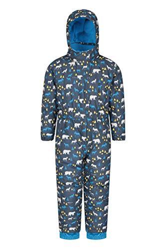 Mountain Warehouse Traje de Nieve Niños Cloud Impermeable, Costuras Selladas Resistentes...