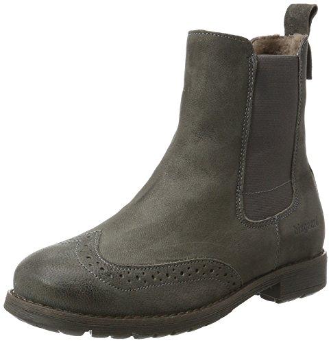 Bisgaard Unisex-Kinder Stiefelette Chelsea Boots, Grau (402 Grey), 37 EU