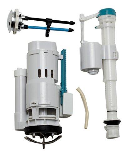 EAGO R-222FLUSH Replacement Toilet Flushing Mechanism for TB222, White