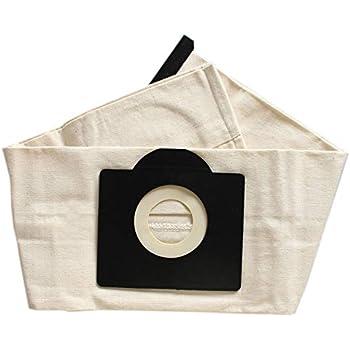 CUHAWUDBA Bolsas de Filtro Lavables de 2 Piezas para Bolsa de Aspiradora Karcher WD3 Rremium WD3200 SE4001 WD3300 Wd2 4000 MV3: Amazon.es: Hogar