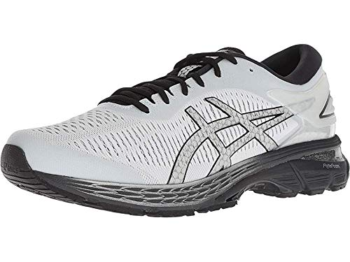 ASICS Gel-Kayano 25 Men's Running Shoe, Glacier Grey/Black, 12 D(M) US