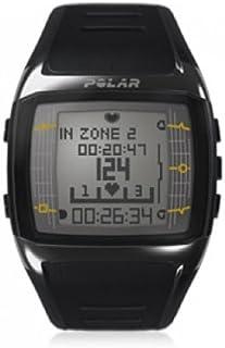 Polar - Pulsómetro para Mujer, Talla única, Color Negro