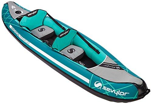 Sevylor Canoa Gonfiabile Madison–2Persone Pieghevole Kayak, Canadese, 327x 93cm