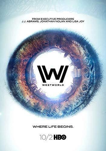 Desconocido Westworld Serie de TV Póster Foto Series Art Jeffrey...