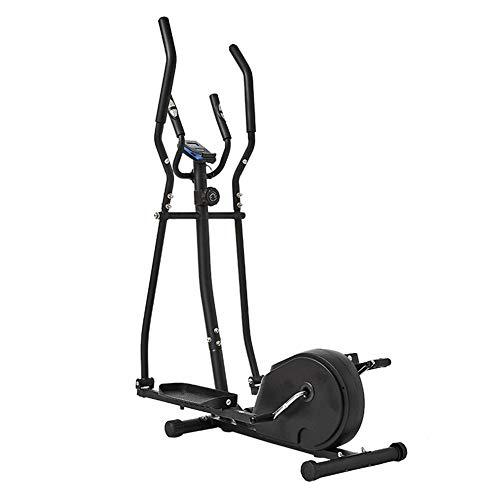 LOO LA Heimtrainer Fahrrad Fahrradergometer mit Pulssensoren & Trainingscomputer, Magnetbremse, verstellbarem Sattel - Indoor Fitnessgeräte