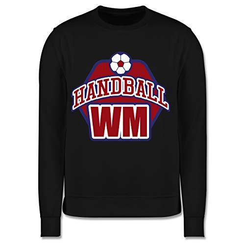 Shirtracer Handball WM 2019 Kinder - Handball WM 2019-140 (9/11 Jahre) - Schwarz - Spruch - JH030K - Kinder Pullover