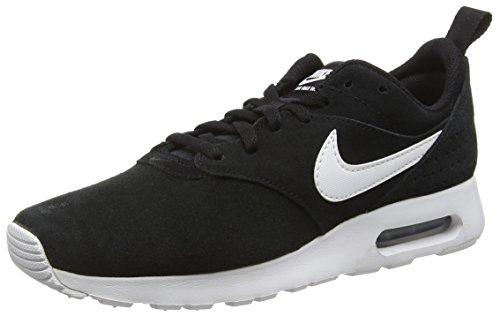 Nike Air Max Tavas Leather, Chaussures Multisport Outdoor Homme, Noir (001 Black), 39 EU