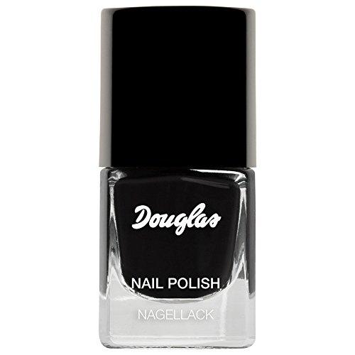 Douglas Nail Polish Nagellack Nr. 385 Gothic lady Farbe: Black / Schwarz Inhalt: 5ml Nagellack