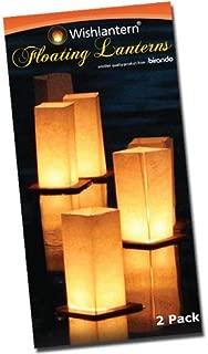 Wishlantern - Pack of 2 Water Floating Lanterns
