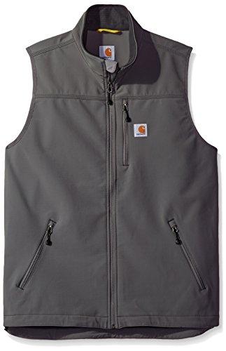 Carhartt Men's Denwood Vest, Charcoal, Large