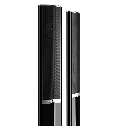 AUNA Areal 652 - Système Son Surround 5.1, Home cinéma, Puissance RMS : 5 x 15 W(Satellites), 70 W(subwoofer), USB, SD, Sleep-Timer, Bluetooth - Noir