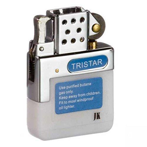 Tri-Star Tristar Gaseinsatz für Benzinfeuerzeuge - Normalflamme