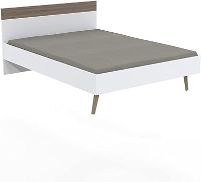 Weber Industries Camper Plate-Forme, Blanc et chêne Blanchi, 2 Personnes (Standard)