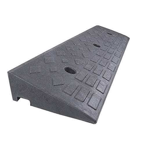 Pasarela de rampa de acera industrial Rampa de umbral de plástico ligero , Rampa de entrada portátil de servicio pesado,para rampa de acera de acceso para discapacitados en silla de ruedas en la ace