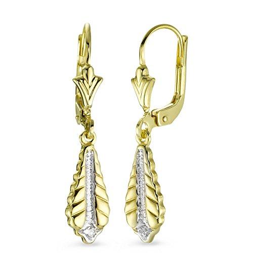 Ohrringe Gold mit Diamant