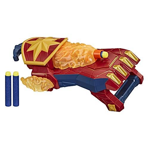 Marvel Avengers – Blaster à photons Captain Marvel lance-fléchettes Nerf Power Moves