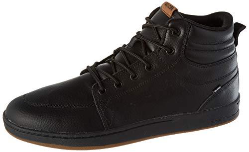 Globe GS Boot, Scarpa da Skateboard Unisex-Adulto, Pelle Nera, 42 EU