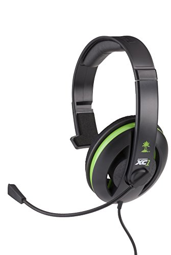 Turtle Beach Ear Force XC1 Hoofdtelefoon met microfoon (Xbox 360, bekabeld, 2,5 mm (2/32), pc's, games, 20-20.000 Hz)