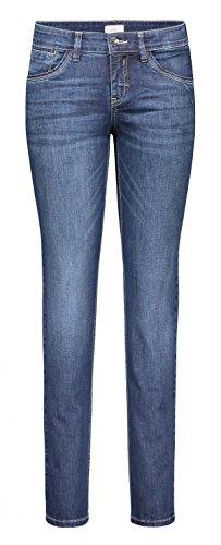 MAC Carrie Pipe Damen Jeans Hose 0380L595490 D845, Farbe:D845;Größe:W44/L32