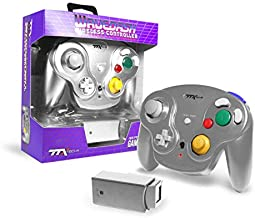 $22 » TTXTech GC Wavedash Wireless Controller Silver for Nintendo GameCube with Wii Console
