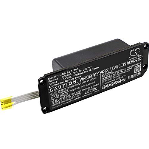 TECHTEK batería sustituye 088772, para 088789, para 088796 Compatible con [Bose] Soundlink Mini 2 FBA