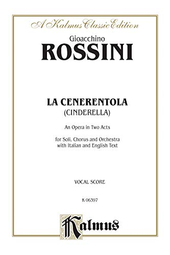 La Cenerentola: Italian, English Language Edition, Vocal Score