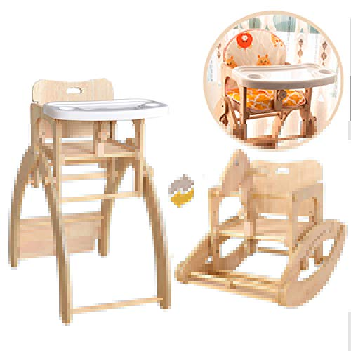 Buy VBARV 3 in 1 Baby High Chair, Convertible Toddler Table Chair Set, Multi-Function Seat with Doub...