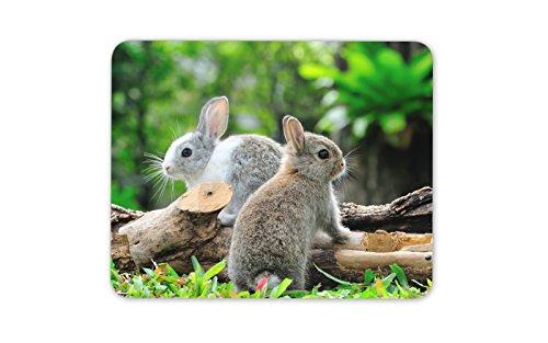 Lapins lapin mignon tapis de souris Pad - Lapin animal Kids Fun cadeau PC Ordinateur # 8284