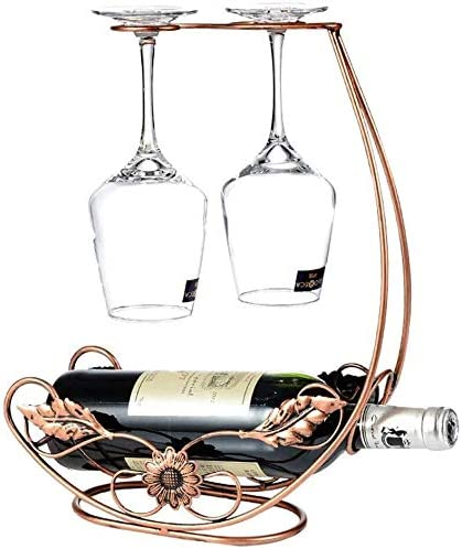 Washington Mall LHBNH Wine Rack 2 In stock with Bronze Metal The Stands indepen