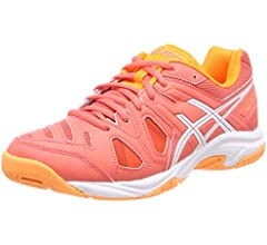 Asics Gel-Game 5 GS, Zapatillas de Tenis Unisex Niños, Rosa (White ...