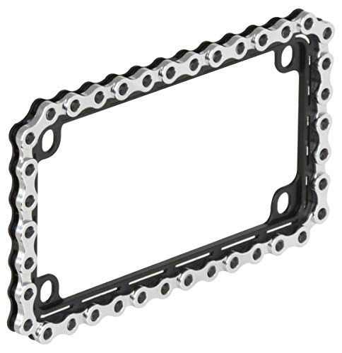 Bell Automotive 22-1-46497-8 Universal Motorcycle Chain License Plate...
