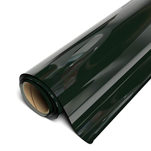 """Siser EasyWeed HTV 11.8"""" x 3ft Roll - Iron on Heat Transfer Vinyl (Dark Green)"""