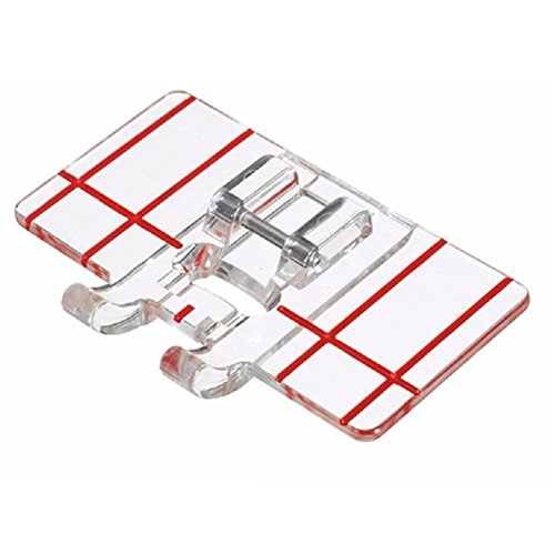 Best Prices! YEQIN Border Guide Sewing Machine Presser Foot - Fits All Low Shank Snap-On Singer, Bro...