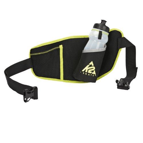 K2 Skates Unisex-Erwachsene F.I.T. BELT M Inline Skates Tasche, Schwarz/Grün, Einheitsgröße