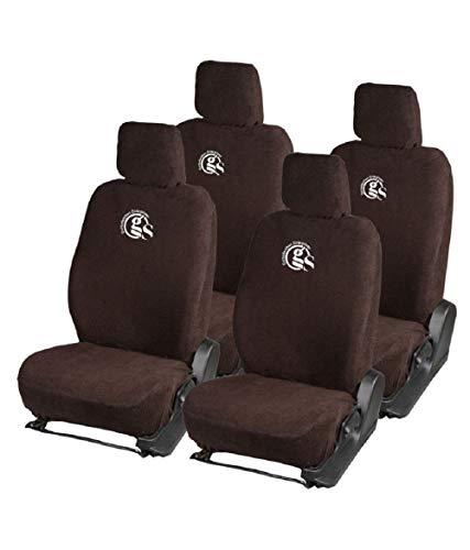 Gursudarshan GS- Premium Towel Car Seat Cover for Volkswagen Polo/Chevrolet Spark (Type-1) / Hyundai Santro/Renault Pulse/Chevrolet Beat/Nissan Micra/Skoda Fabia/Ford Figo