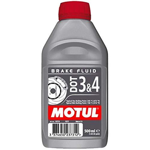 Motul DOT 3 und 4 synthetische Bremsflüssigkeit 500 ml für Universal Motorrad MTBR500