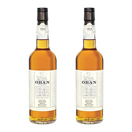 Oban 14 Years/Jahre, 2er, Single Malt, Whisky, Scotch, Alkohol, Alokoholgetränk, Flasche, 43%, 700 ml, 75906